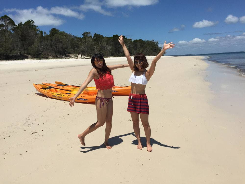 Fraser Island Beach + BBQ West Coast kayaking
