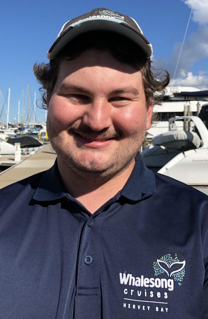 Whalesong Cruises Hervey Bay crew - Strahan